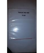 Electrical Manualfor Traub TND 400 - $60.00