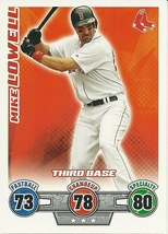 2010 Topps Attax Head to Head Card Game Mike Lowell Red Sox - $1.00