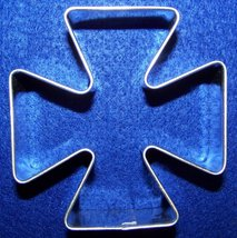 Maltese cross cookie cutter - $6.00