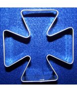 Maltese cross cookie cutter - $5.00