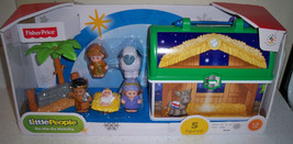 FISHER PRICE LITTLE PEOPLE ON THE GO NATIVITY SET NEW 2013 - $31.91