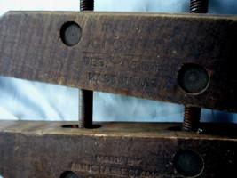 VTG Antique Jorgensen Wood Adjustable Clamp/ Chicago IL XLENT Cond Made USA - $22.00