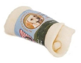 Wholesome Hide Knotted Bone 4-5'' Dog Treat 2 Each