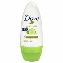 6 x Dove Roll On Go Fresh Cucumber & Green Tea Anti perspirant Deodorant... - $17.81