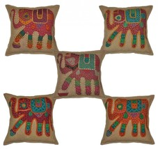 16 X 16 Home Furnishing Embroidered Indian Cott... - $39.45