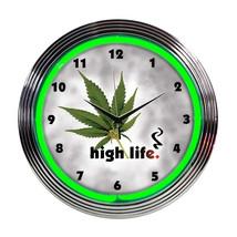 Neonetics High life neon clock - $63.00