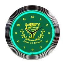 Neonetics Irish erin go bragh neon clock - $64.20