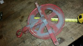 "crosby 12"" Gin Roofers Steel Shell Block Roller Bushed pulley sheave - $49.00"