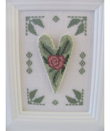 Heart To Heart cross stitch chart By The Bay Needleart  - $10.80