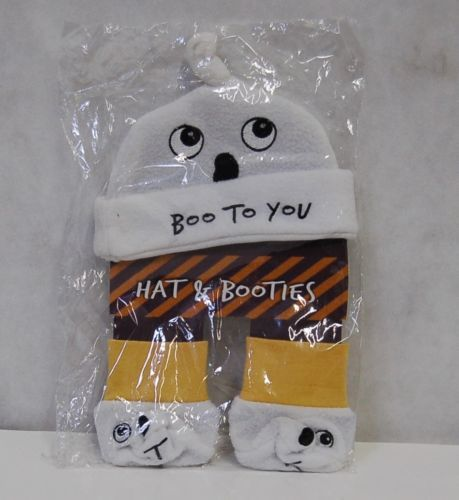 Grasslands Road 468439 Bootiful Baby Boo To You Hat Booties Trick Treat