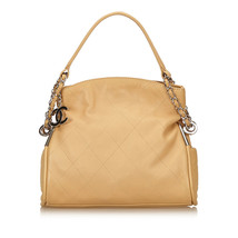 Pre-loved Chanel Brown Wild Stitch Lambskin Leather Shoulder Bag Italy - €837,81 EUR