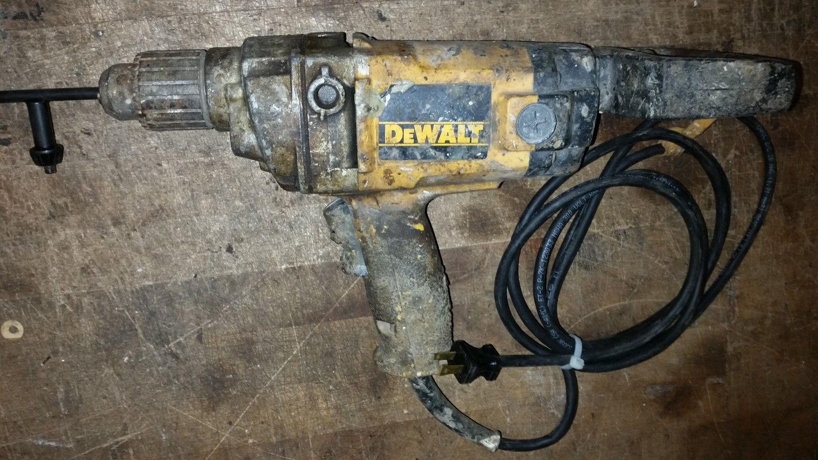 "DEWALT DW130 1/2"" VSR CORDED D HANDLE DRILL TYPE 2"