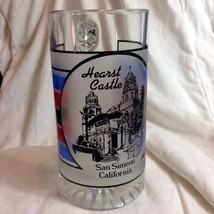 Culver Glass Hearst Castle Mug Beer Stein San Simeon Frosted Beverage USA - $24.26