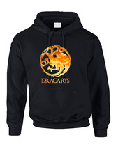 Adult Hoodie Dracarys Popular Trendy Top - $29.94+