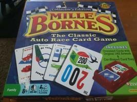 Mille Bornes Classic Auto Race Card Game Collectors Edition Complete Hasbro NICE - $12.00