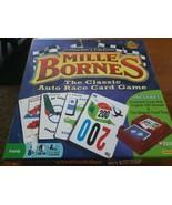 Mille Bornes Classic Auto Race Card Game Collectors Edition Complete Has... - $12.00