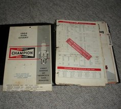 Champion Spark Plugs Application Manuals Books ... - $5.99