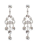 Bridal Wedding Jewelry Crystal Rhinestone Class... - $12.10