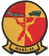 USMC MABS-24 Marine Air Base Squadron 24 Patch  - $9.97