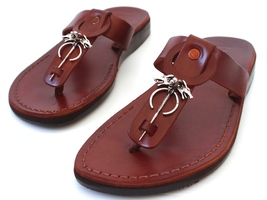 Flops OF GAMES Women Leather THRONES Sandals Handmade Slippers Shoes Flip Thongs npq6zwUxU
