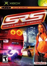 SRS: Street Racing Syndicate  (Xbox)   DISC ONLY   Tested! - $1.97