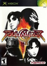 Soul Calibur II  (Xbox)  Platinum Hits   DISC ONLY   Tested - $1.48