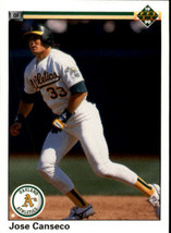 1990 Upper Deck Jose Canseco #66 Oakland A's (MINT)  Baseball Card - $0.98