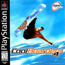 Cool Boarders 4  (PlayStation 1, PS1, PSX)   DISC ONLY   Tested!! - $1.97