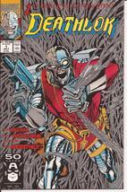 Marvel Deathlok  #1 Premiere Issue The Souls Of Cyber-Folk Action Adventure - $1.95