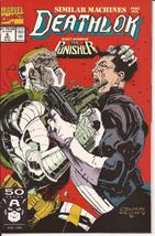 Marvel Deathlok Lot Issues #6,7 & 19 Cyberwar The Punisher Action Adventure - $5.95