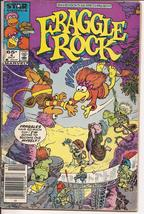 Marvel Fraggle Rock #4 Jim Henson Muppets Cartoon Humor Satire - $1.25