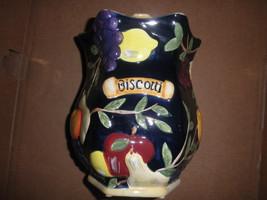biscotti cookie jar very nice - $29.95
