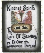 Kindred Spirits cross stitch chart By The Bay Needleart  - $7.20