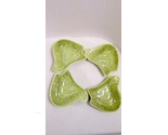 Lazy susan green california pottery leaf dishes 01 thumb155 crop