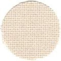 25ct Bone Lugana evenweave 36x27 cross stitch fabric Zweigart - $23.40
