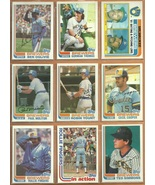 1982 Topps Milwaukee Brewers Team Lot 29 Robin Yount Paul Molitor Fingers Ted Si - $6.95