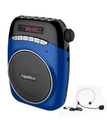 Supersonic Portable PA System with USB and Micro SD Card Slot-Blue - $54.37