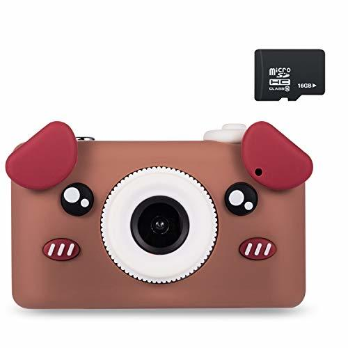 Abdtech Kids Camera Toy Gifts for Boys Age 3-6 Year olds, Compact Children Camer