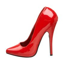 Red Red Women's Closed Devious R UK Dom420 13 Pumps Toe gqnOZwB
