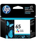 Genuine New HP 65 Tri-Color Ink Cartridge N9K01AN Exp 2021 - $13.75