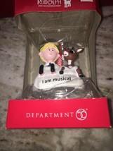 Dept 56 Rudolph 2018 Rudolph & Hermey Musical Ornament #6002171 NEW - $28.71