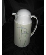 Corning Corelle Shadow Iris Insulated Hot Beverage Server Thermos - $7.99