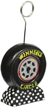 "Racing Tire Photo Holder Balloon Weight Party Accessory 5"" x 2 1/8"" - $9.46"