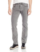 Levi's 501 Men's Original Straight Leg Jeans Button Fly Grey 501-2370