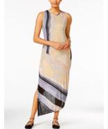 Rachel Rachel Roy Women's Printed Draped Back Midi Dress Multicolor Medium - $53.96