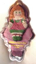 Wilton  Storybook Doll - Raggedy Ann Cake Pan - 502-968  - Vintage 1971 - $4.88