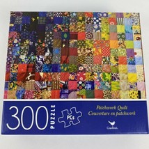 Patchwork Quilt, Jigsaw Puzzle by Cardinal, 300 Pieces, Size 14 x 11 Inches - $4.99