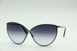 NEW TOM FORD TF 251 12B EVELYN BLACK AUTHENTIC SUNGLASSES GRADIENT 66-5 ... - $215.99