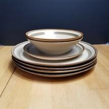Lot of Mikasa Sand Dune Studio Nova Homespun Dishes 7 Pieces - $14.80