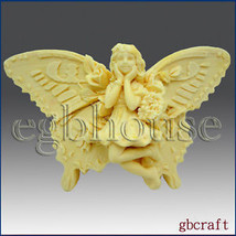 egbhouse, 2D Silicone Soap  Mold - MelindaLee the Butterfly fairy - $36.18